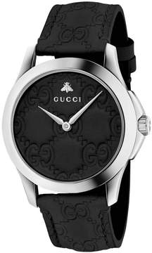 Gucci Watch G-timeless Watch Case 38 Mm With The Engraved'gg' Monogram
