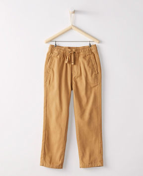 Hanna Andersson Washed Cotton Slim Chinos