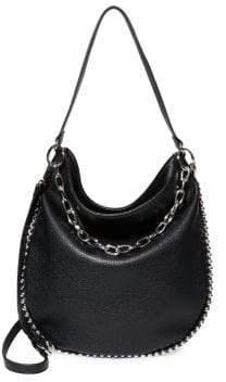 Steve Madden Ball-Trim Small Hobo Bag