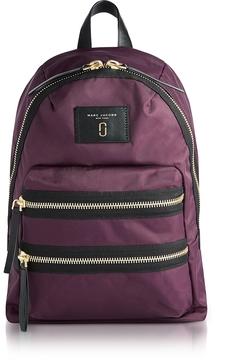 Marc Jacobs Dark Violet Nylon Biker Mini Backpack - ONE COLOR - STYLE
