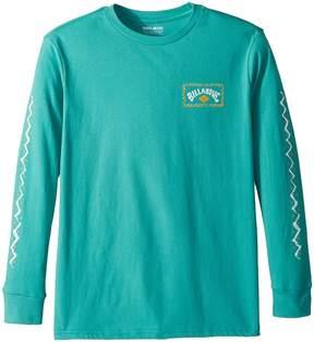 Billabong Kids Dreamscape Long Sleeve Tee Boy's Long Sleeve Pullover