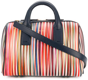 Paul Smith striped bowling bag