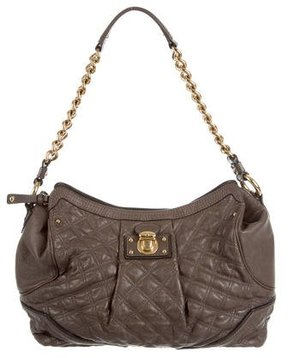 Marc Jacobs Quilted Shoulder Bag - NEUTRALS - STYLE