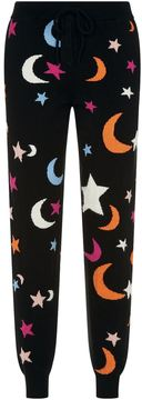 Chinti and Parker Cashmere Midnight Sky Sweatpants