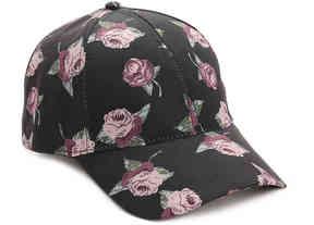 David & Young Women's Floral Baseball Cap