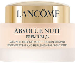 Lancome Absolue Premium Ãx Night Care Advanced Radiance Regenerating and Replenishing night cream