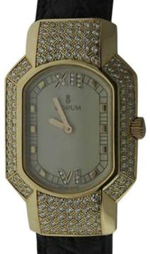 Corum Rue de la Paix 18K Yellow Gold with Diamond Womens Watch
