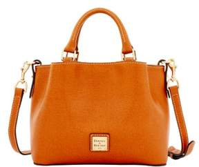 Dooney & Bourke Saffiano Mini Barlow Top Handle Bag - NATURAL - STYLE