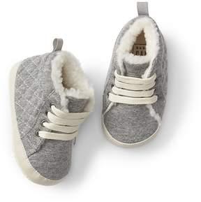 Gap Cozy quilted hi-top sneakers
