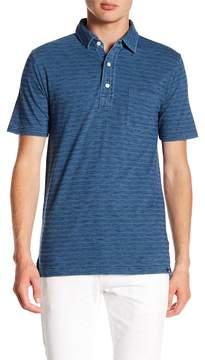 Faherty BRAND Striped Pocket Polo Shirt