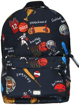 Dolce & Gabbana Sports Printed Nylon Backpack