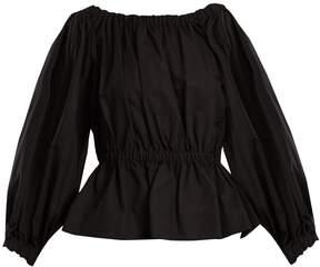 DAY Birger et Mikkelsen MOLLY GODDARD Marion elasticated-waist cotton top
