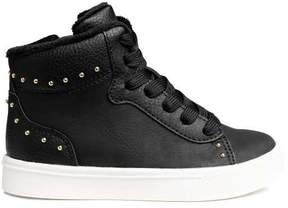 H&M Lined High Tops