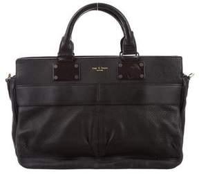 Rag & Bone Grained Leather Handle Bag