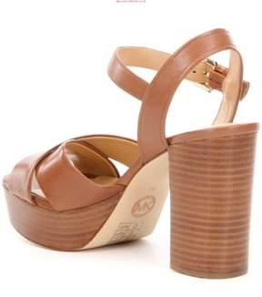 Michael Kors MICHAEL Womens Divia Open Toe Casual Ankle Strap Sandals