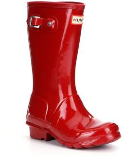 Hunter Gloss Kids Waterproof Rain Boots