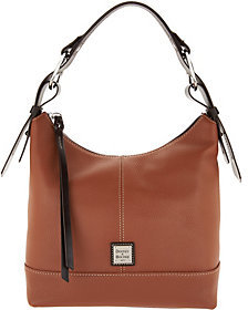 Dooney & Bourke Pebble Leather Hobo Handbag- Gracie
