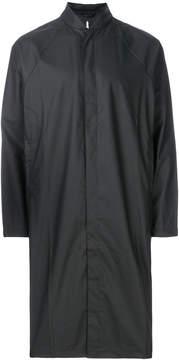 Rains band collar raincoat