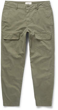 Folk Slim-Fit Tapered Cotton Cargo Trousers