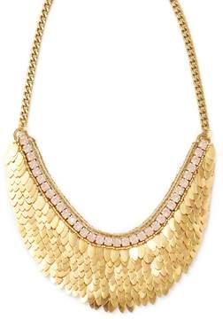 Deepa Gurnani Women's Feather & Crystal Statement Necklace