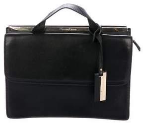 Christian Lacroix Leather Melitea Satchel
