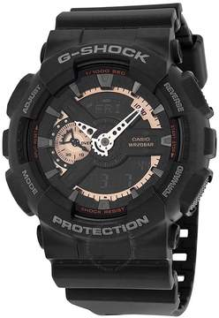 Casio G Shock Black Resin Men's Watch