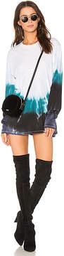 Baja East Graphic T-Shirt Dress
