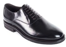Brunello Cucinelli Men's Dark Brown Leather Lace Up Shoes.