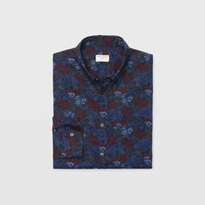 Club Monaco Slim Multi Floral Shirt