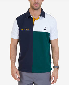Nautica Men's Classic-Fit Colorblocked Heritage Polo, a Macy's Exclusive Style