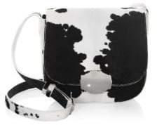 Calvin Klein Calf Hair Saddle Bag