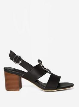Dorothy Perkins Black 'Soho' Heeled Sandals