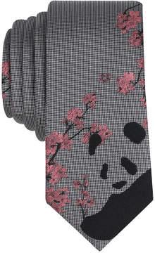 Bar III Men's Bao Bao Panda Conversational Skinny Tie, Created for Macy's