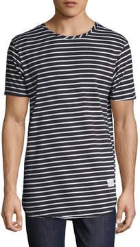 Kinetix Men's High Tide Striped Crewneck T-Shirt