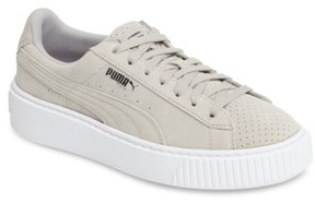 Puma Women's Basket Platform Sneaker