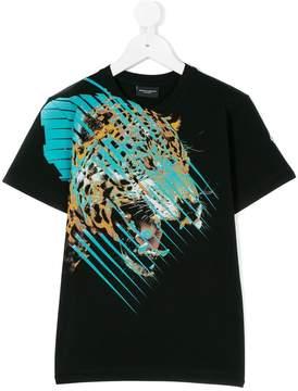Marcelo Burlon County of Milan Kids graphic logo printed T-shirt