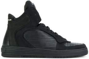 Philipp Plein Inspection hi-top platform sneakers
