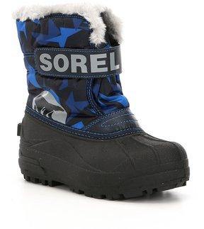 Sorel Boys Commander Waterproof Snow Boots