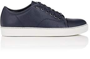 Lanvin Men's Cap-Toe Leather Sneakers