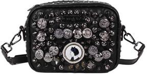 Women's Nicole Lee Darva Vintage Button Cross Body Bag