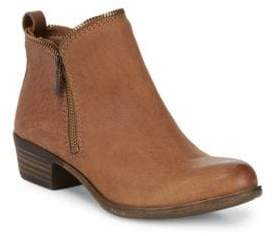 Lucky Brand Classic Leather Booties