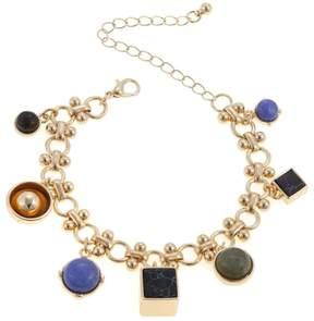 Danielle Nicole Theo Gem-Color Dangle 6-1/2 Bracelet