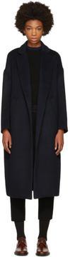 Enfold Navy Chester Coat
