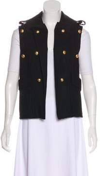 Camilla And Marc Embellished Wool Vest
