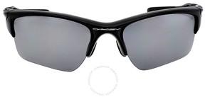 Oakley Half Jacket Sport Sunglasses - Polished Black/Iridium Polarized