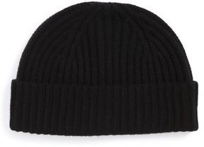 Nordstrom Wool & Cashmere Beanie - Black
