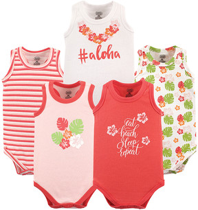 Luvable Friends Aloha Sleeveless Bodysuit Set - Newborn & Infant