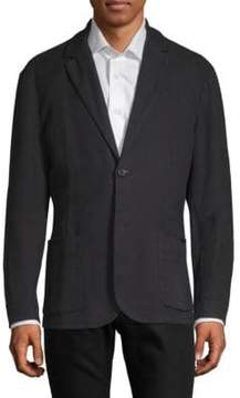 James Perse Textured Cotton Blazer