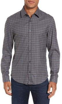 BOSS Men's Lance Slim Fit Flannel Sport Shirt