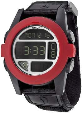 Nixon Baja Digital Black and Red Polycarbonate Men's Watch